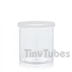 Envase para muestras 30ml. Tapa presión