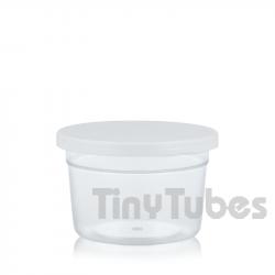Envase para muestras 32ml. Tapa presión