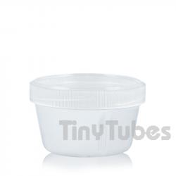 Envase desechable 55ml. Tapa rosca