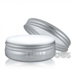 Pildorero Aluminio 100ml ANCHO Interior Polipropileno