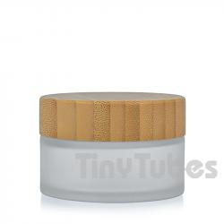 Tarro Cristal Glaseado Bambú 15ML