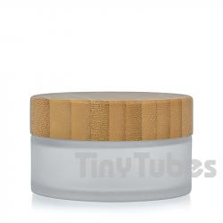 Tarro Cristal Glaseado Bambú 30ML