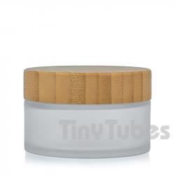 Tarro Cristal Glaseado Bambú 50ML